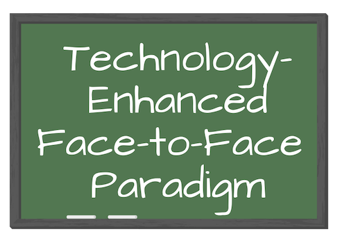 Technology-Enhanced Face-to-Face Paradigm
