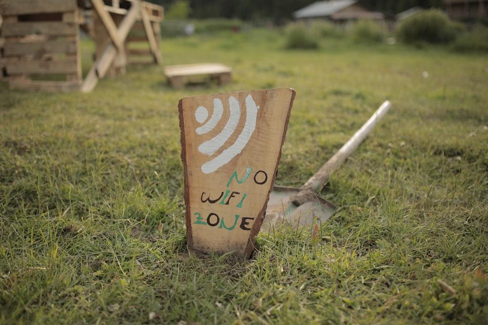No wifi zone